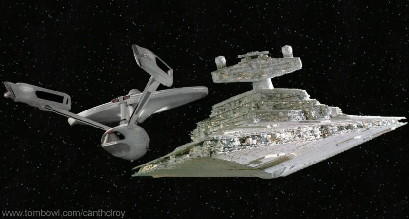 starships in startrek vs starships in starwars battles comic vine