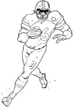 beal mortex coloring pages | Tom Bowl XXI
